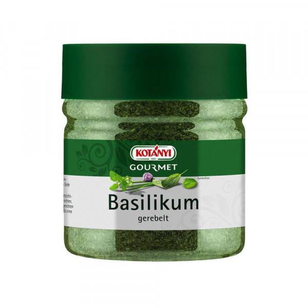 Basilikum, gerebelt