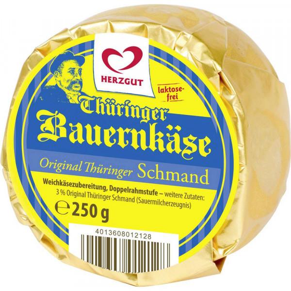Thüringer Bauernkäse, Schmand