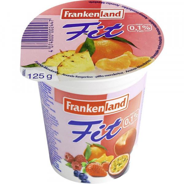 Fit-Fruchtjoghurt, Ananas/Mandarine