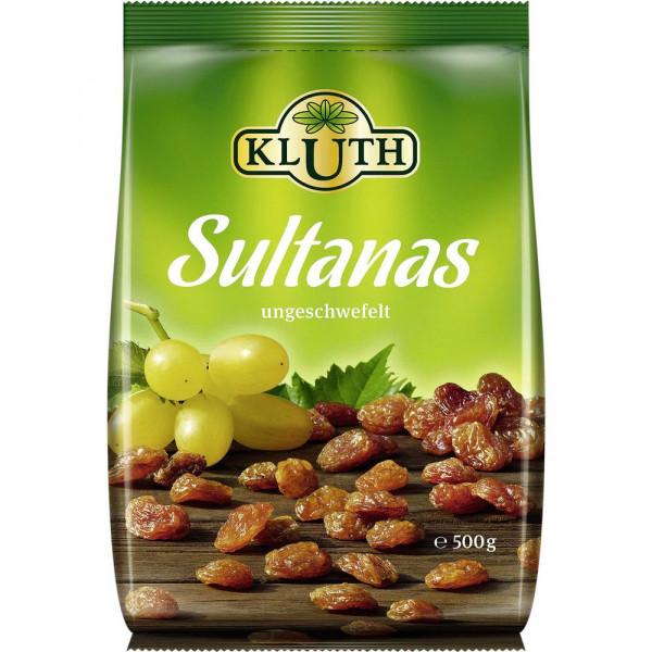 Sultanas, getrocknet und ungeschwefelt