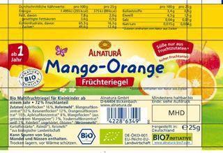 Früchteriegel Mango-Apfel, ab 1 Jahr