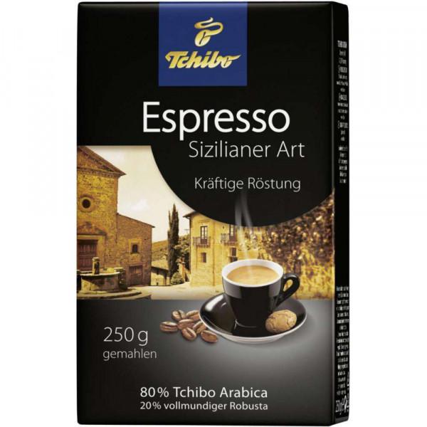 Kaffee Cafissimo Espresso Sizilianer Art, gemahlen