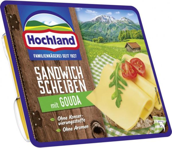 Sandwich Käsescheiben, Gouda