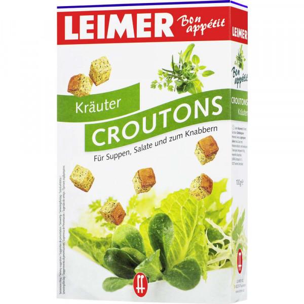 Croutons, Kräuter