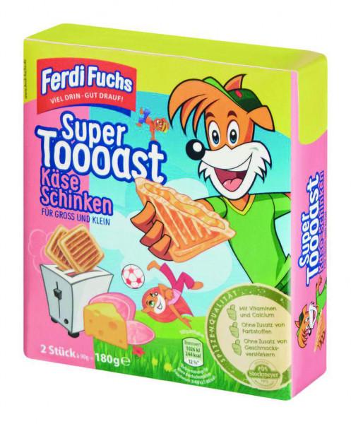 Super Toast, Käse/Schinken