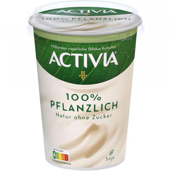 Pflanzliche Joghurtalternative, natur ungesüßt