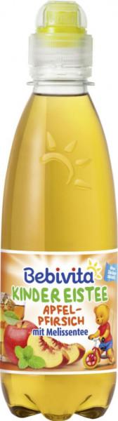 Kinder Saft, Apfel/Pfirsisch/Melissentee