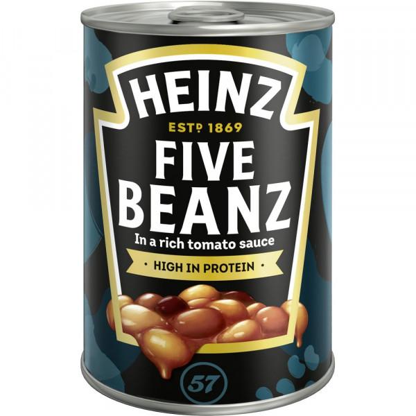 """Baked Beans """"5 Sorten"""" in Tomatensoße"""