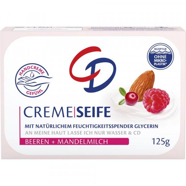 Cremeseife, Beeren & Mandelmilch