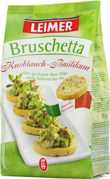 Bruschetta, Knoblauch-Basilikum