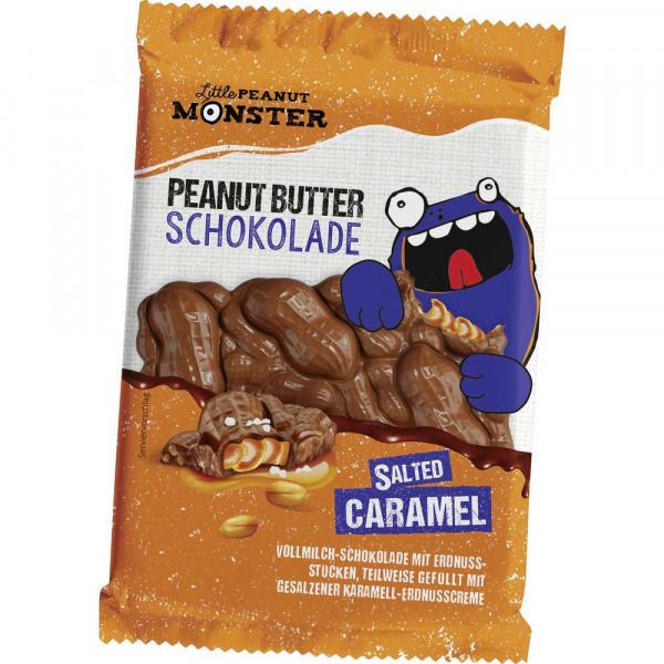 """Schokolade """"Peanutbutter"""" Salzkaramell"""