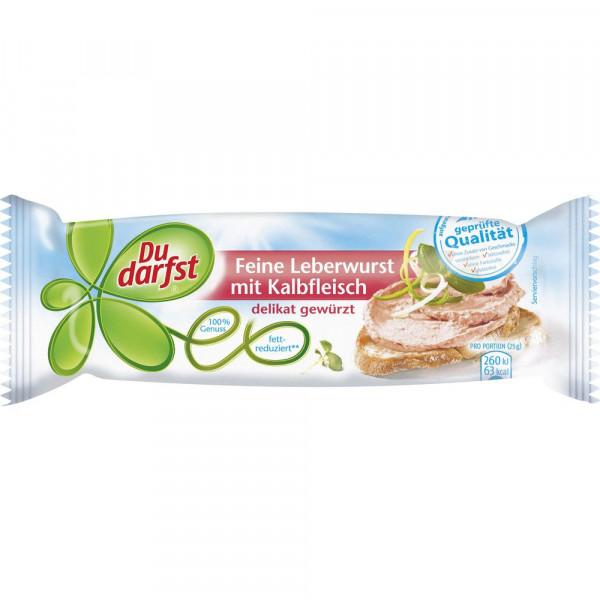 Kalbs-Leberwurst