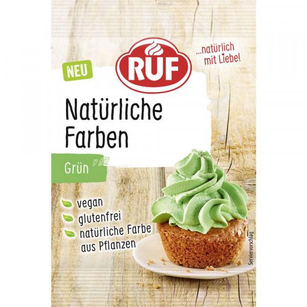 Natürliche Lebensmittelfarbe, grün