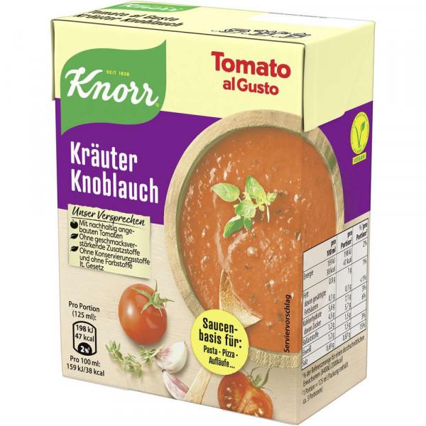 Tomato al Gusto, Kräuter/Knoblauch