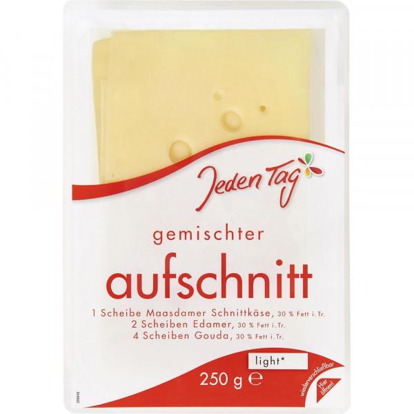 Käseaufschnitt Mischung, Leicht