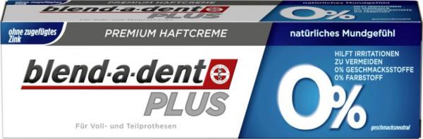 Premium Haftcreme, PLUS, 0%
