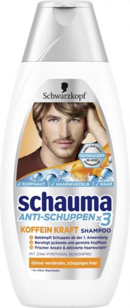 "Schauma Shampoo ""Anti Schuppen x3 Koffein Kraft"""