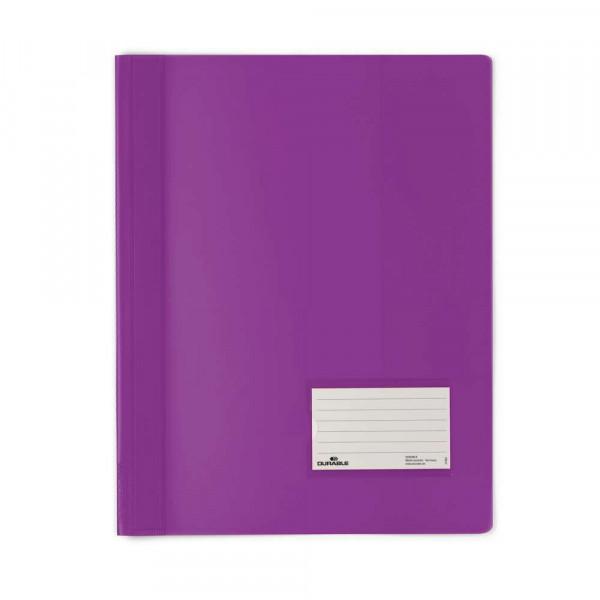 Schnellhefter, A4, Kunststoff, lila