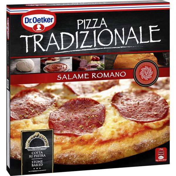 "Pizza ""Tradizionale"" Salame Romano, tiefgekühlt"