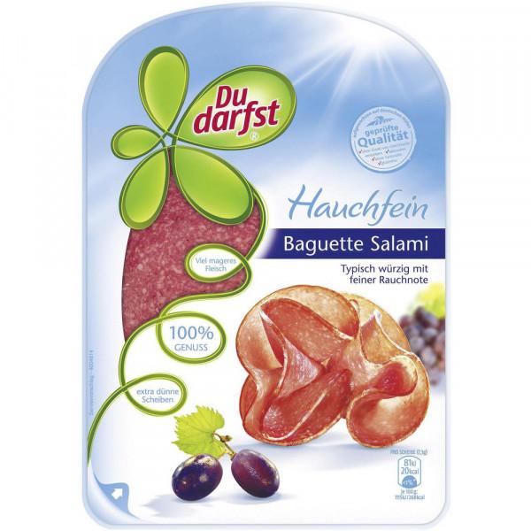 Baguette-Salami, hauchfein