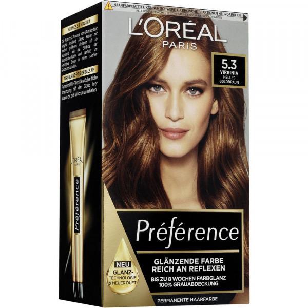 "Haarfarbe ""Preference"", 5.3 Virginia"