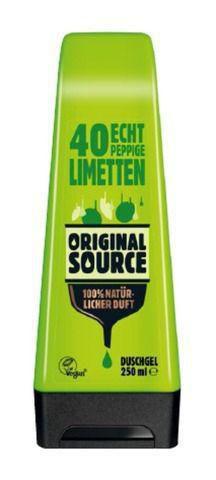 Duschgel, Limetten