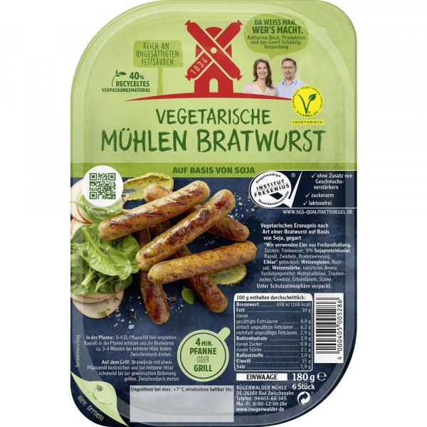 Vegetarische Mühlen Bratwurst