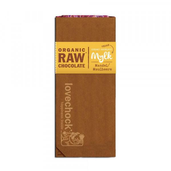 Bio Schokoladen Tafe Mylk Mandel Maulbeeren 70g