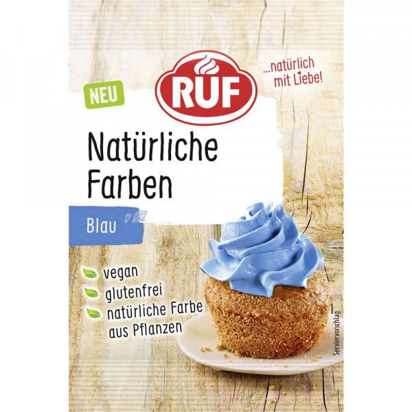 Natürliche Lebensmittelfarbe, blau