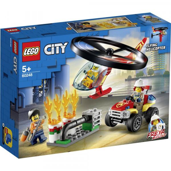 LEGO 60248 Einsatz mit dem Feuerwehrhubschrau