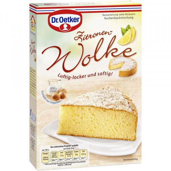 """Backmischung """"Wolke"""", Zitronen Kuchen"""