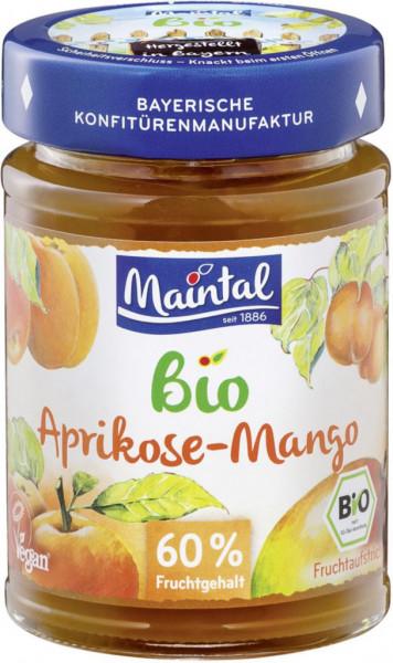 Bio Fruchtaufstrich 60% Fruchtgehalt, Aprikose-Mango