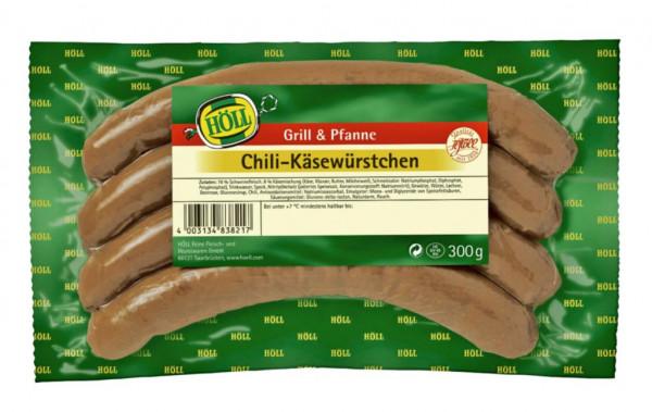 Chili-Käsewürstchen