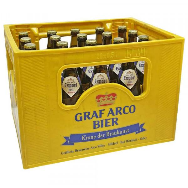 Edell Export Bier 5,3% (20 x 0.5 Liter)