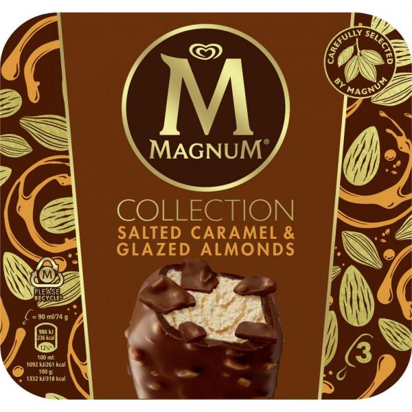 """Stieleis """"Magnum Collection"""", Salted Caramel & Glazed Almonds"""