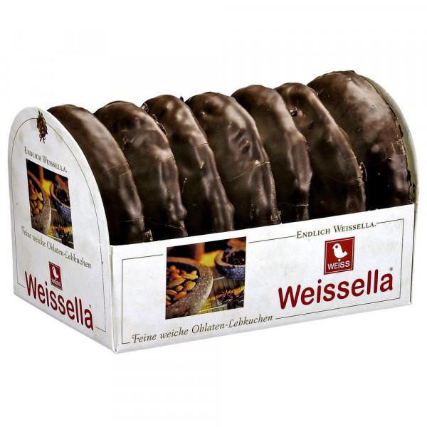Weissella Oblatenlebkuchen, zartbitter