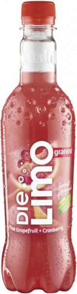 Die Limo Pink Grapefruit-Cranberry Limonade (216 x 1 Stück)