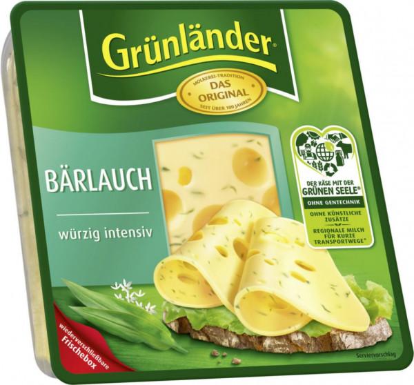 Käsescheiben, Bärlauch