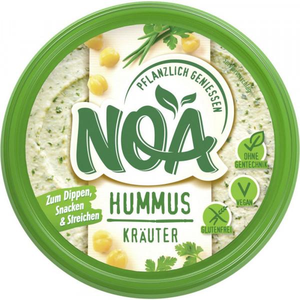 Hummus, Kräuter