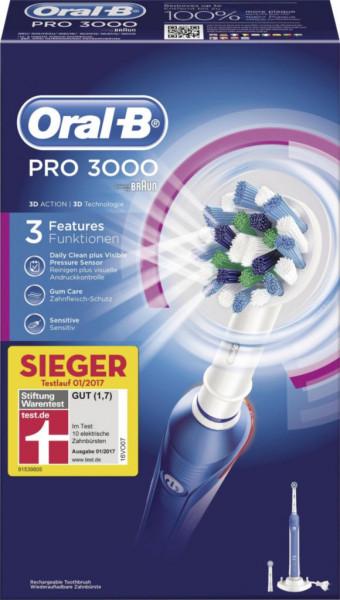 elektrische Zahnbürste, Pro 3000 3D
