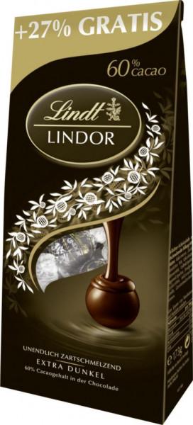 "Schokoladen-Kugeln ""Lindor"", extra dunkel 60% Kakao"