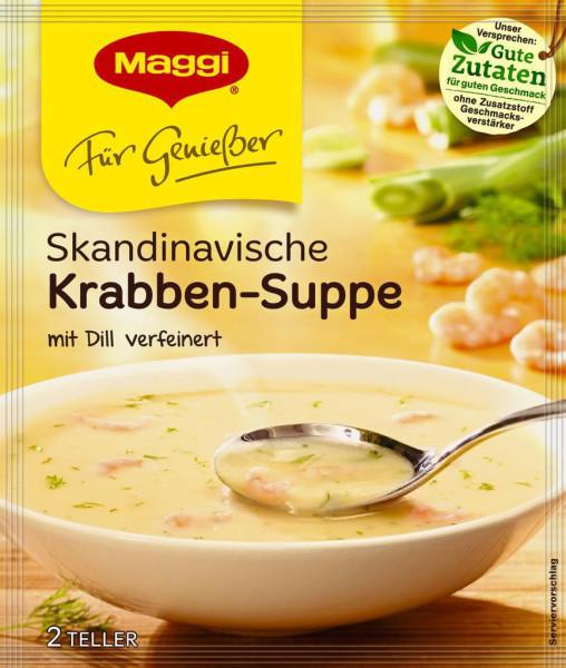 Genießer Suppe, Krabben