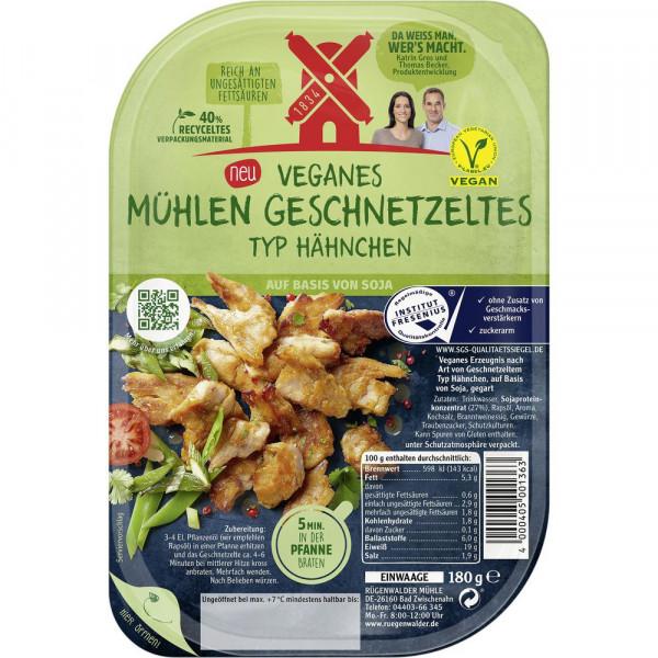 Vegan Geschnetzeltes, Hähnchen
