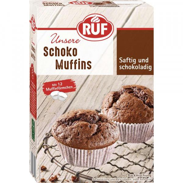 Muffins Backmischung, Schoko