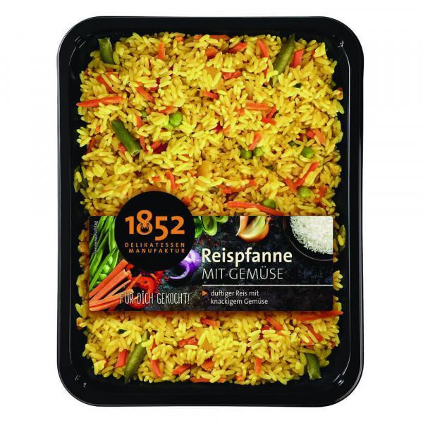 Reispfanne mit Gemüse