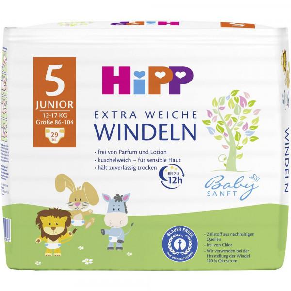 Babysanft Windeln Gr. 5 Junior, 11-17kg