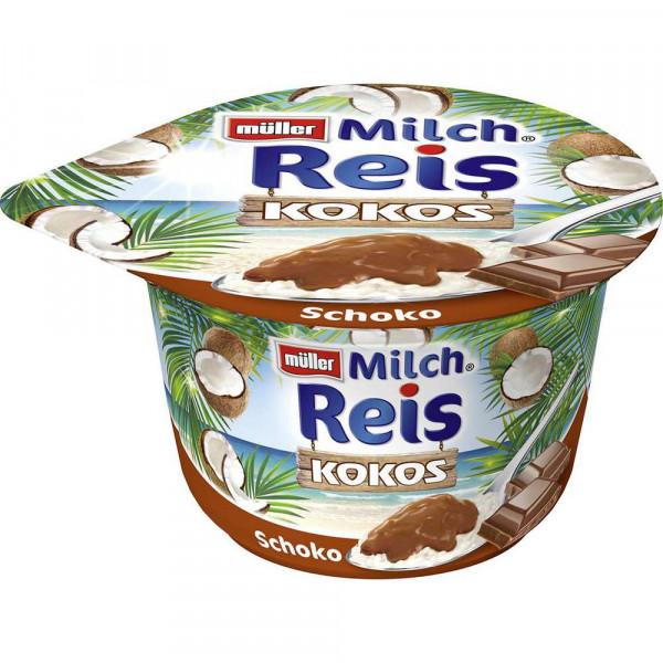 Milchreis, Kokos/Schoko